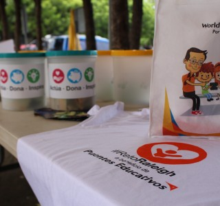 Raleigh y Concentrix realizan reaudación de fondos para disminuir el trabajo infantil en Matagalpa.